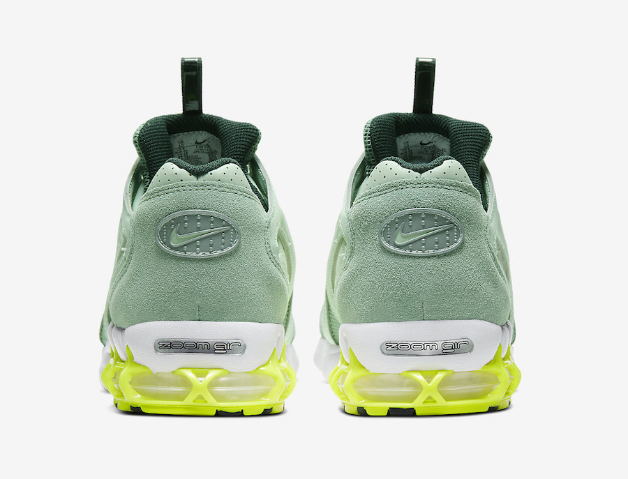 Nike Air Zoom Spiridon Caged Pistachio Frost CW5376-301 Release Date