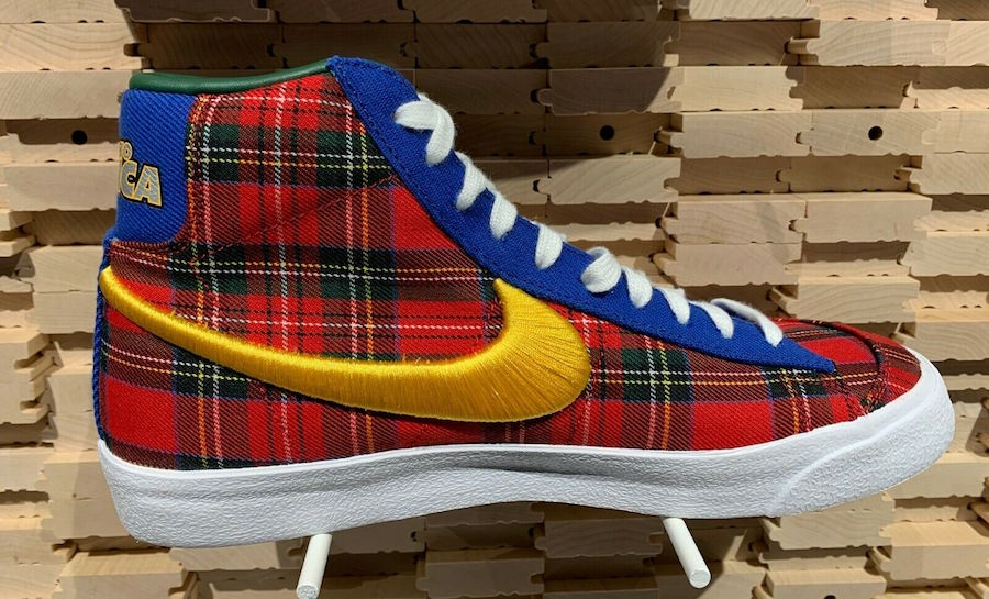 Nike Blazer Mid Coming to America CW3044-600 Release Date