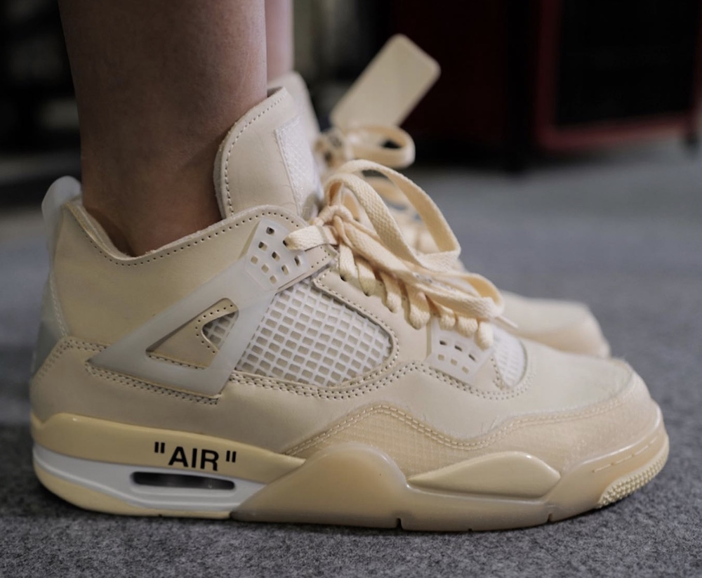 Off-White Air Jordan 4 Cream Sail 2020 Release Date