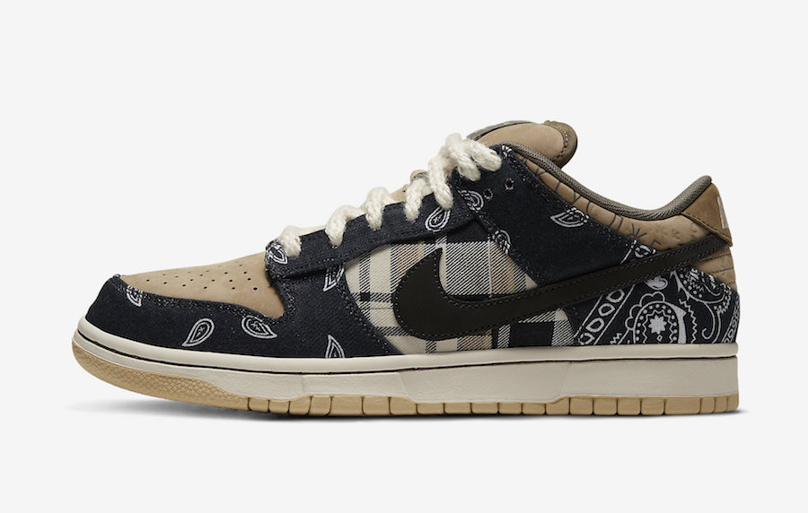 Travis Scott Nike SB Dunk Low CT5053-001 Release Date Price