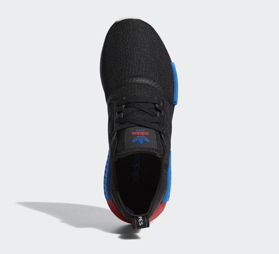 adidas NMD R1 Core Black Lush Red FX4355 Release Date