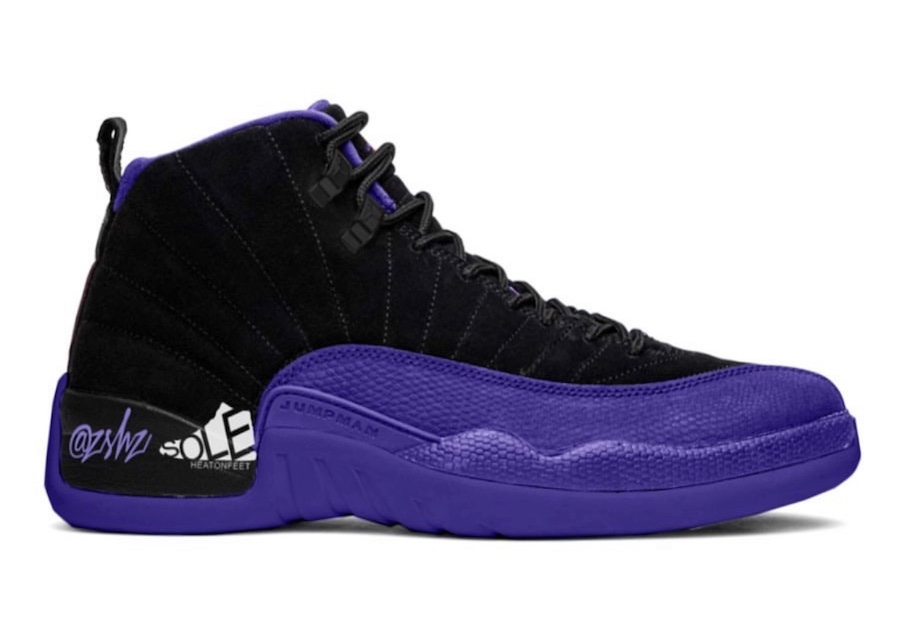 Air Jordan 12 Black Dark Concord CT8013-005 Release Date