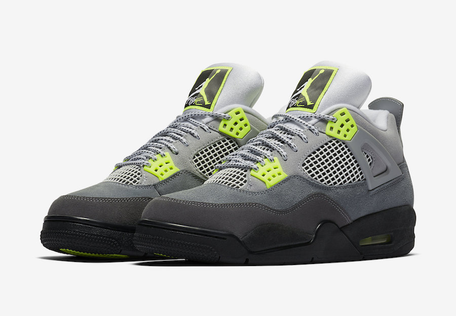 Air Jordan 4 Neon CT5342-007 Release Date Price