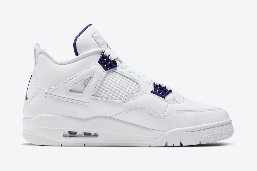 Air Jordan 4 Purple Metallic CT8527-115 Release Date Price
