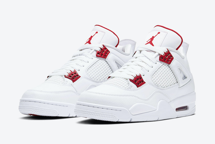 Air Jordan 4 Red Metallic Pack CT8527-112 Release Date
