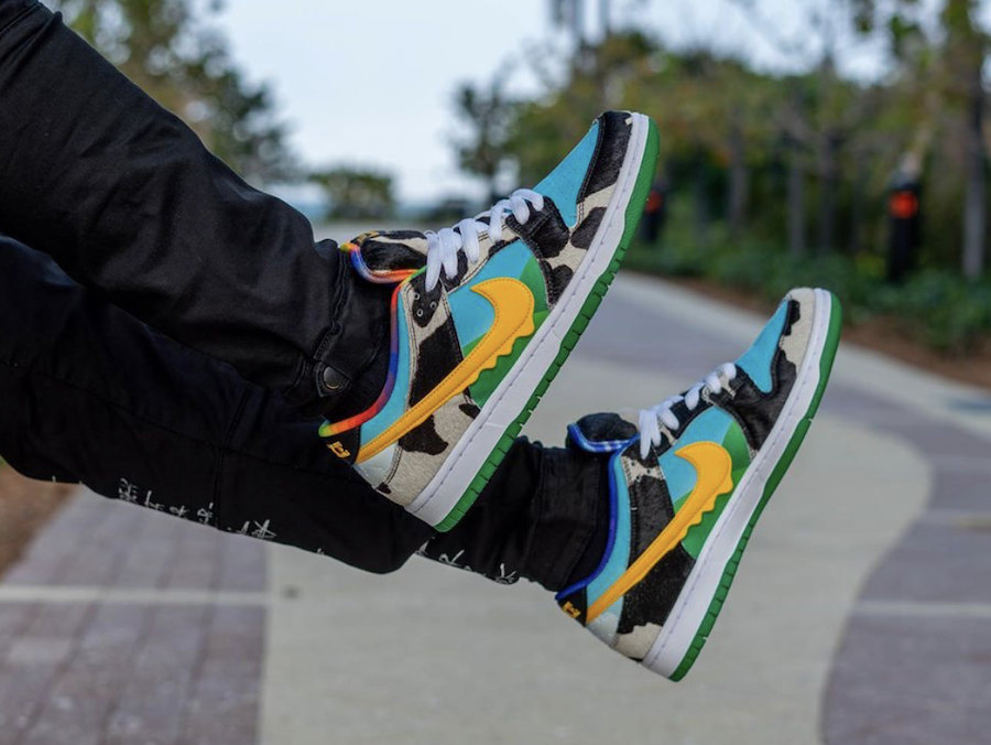 Ben and Jerrys Nike SB Dunk Low Chunky Dunky CU3244-100 Release Date