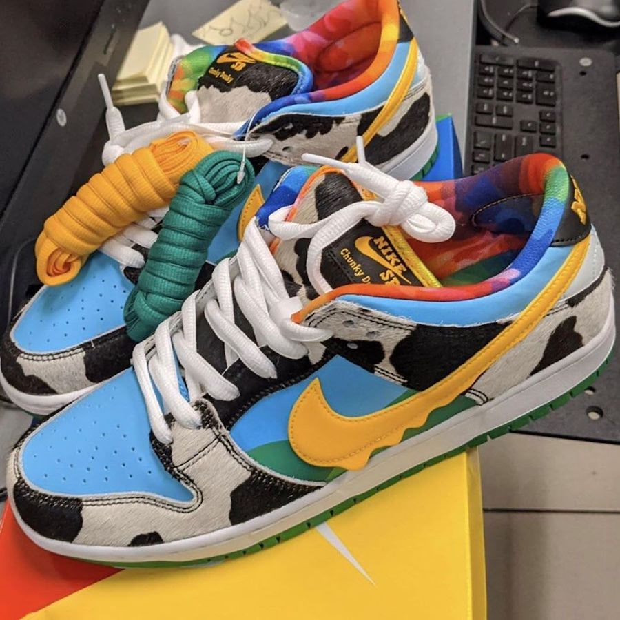 Ben & Jerry's x Nike SB Dunk Low Chunky Dunky Release Date