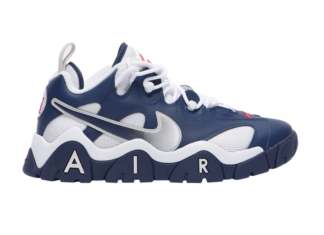 Nike Air Barrage Low Navy White Red CN0060-400 Release Date