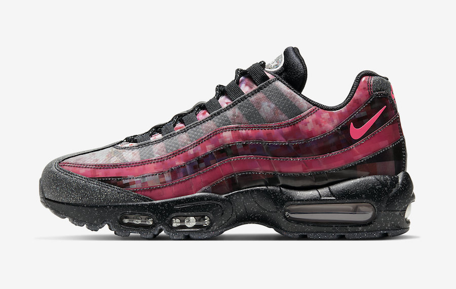 Nike Air Max 95 Inspired by Cherry Blossoms | Sneakers Cartel
