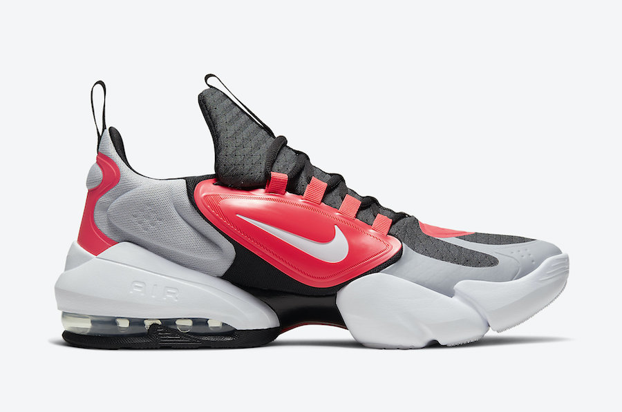 Nike Air Max Alpha Savage Wolf Grey Laser Crimson AT3378-060 Release Date