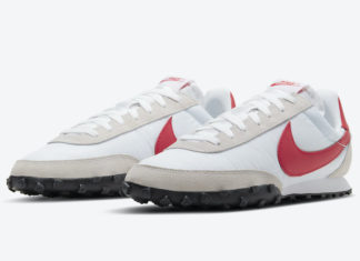 Nike Waffle Racer White Red Grey CN8116-100 Release Date
