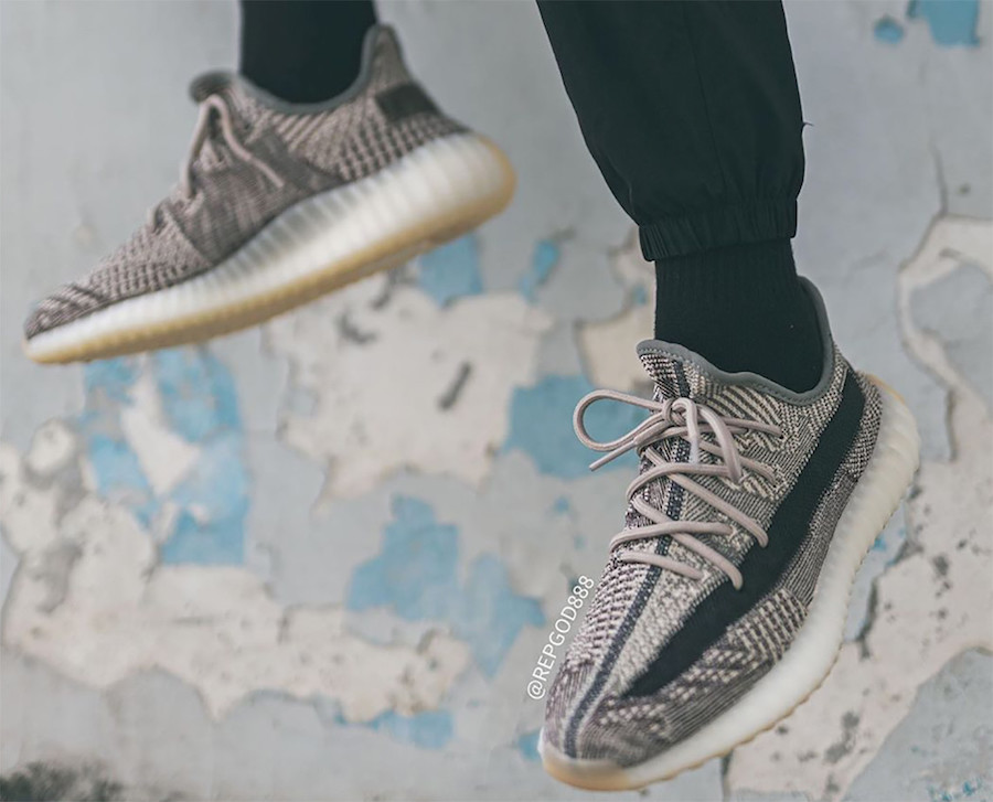 adidas Yeezy Boost 350 V2 Zyon FZ1267 On-Feet Release Date