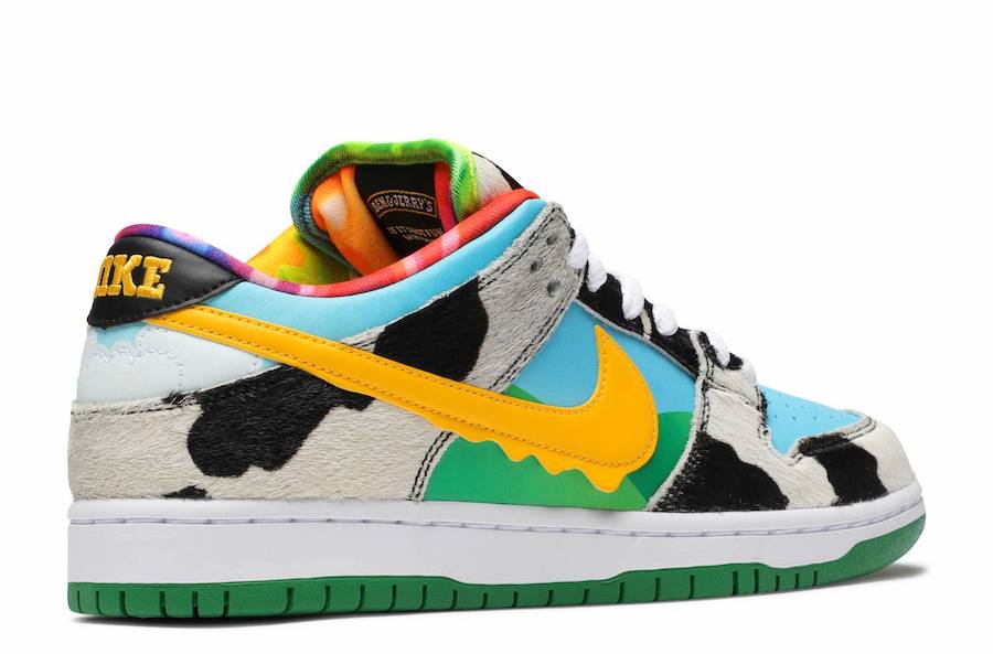 Ben and Jerrys Nike SB Dunk Low CU3244-100 Release Date