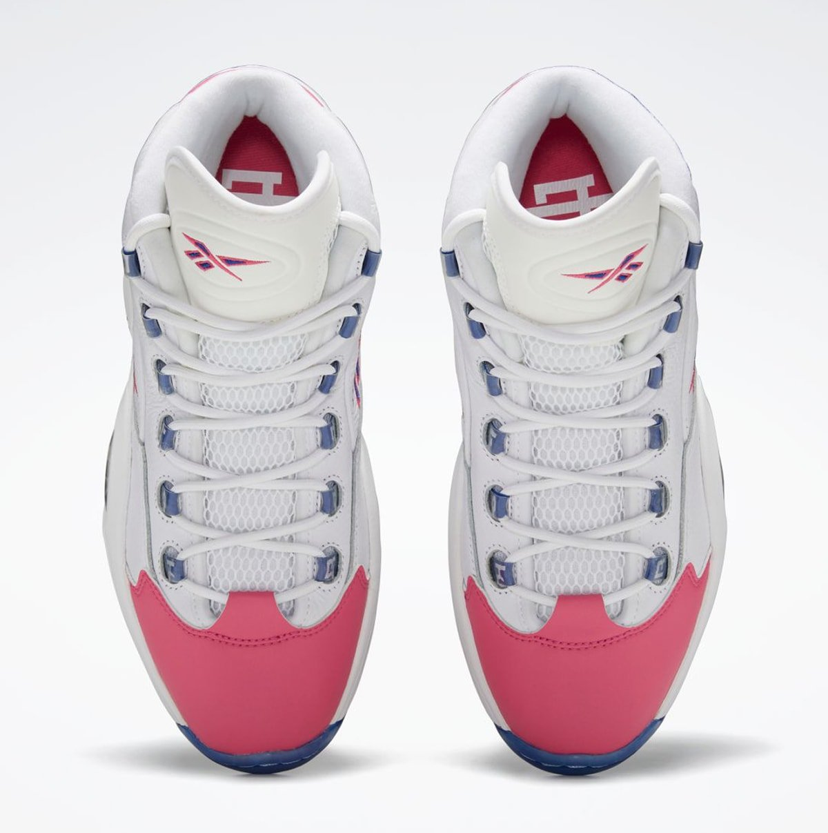 Eric Emanuel Reebok Question Mid Pink Toe FX7441 Release Date