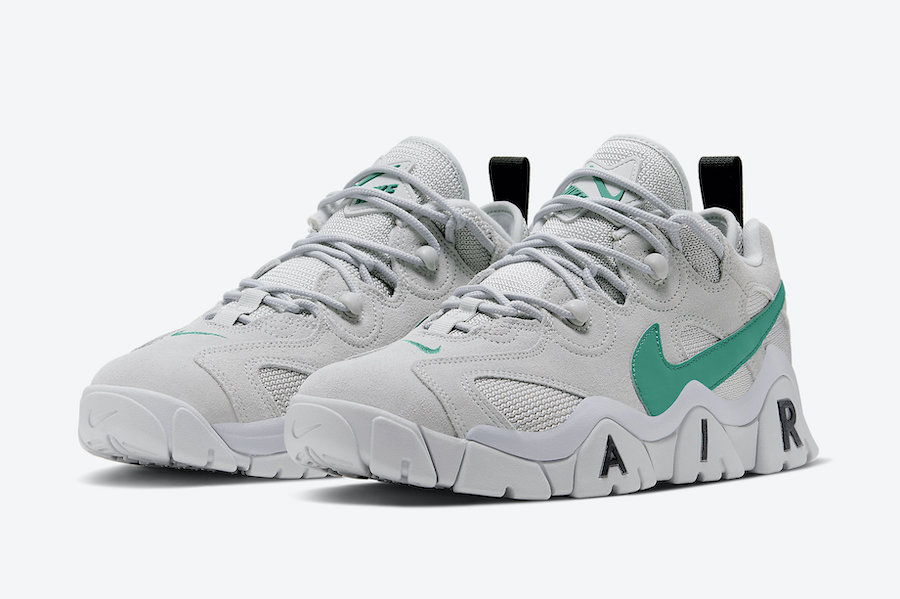 Nike Air Barrage Low Neptune Green CW3129-001 Release Date