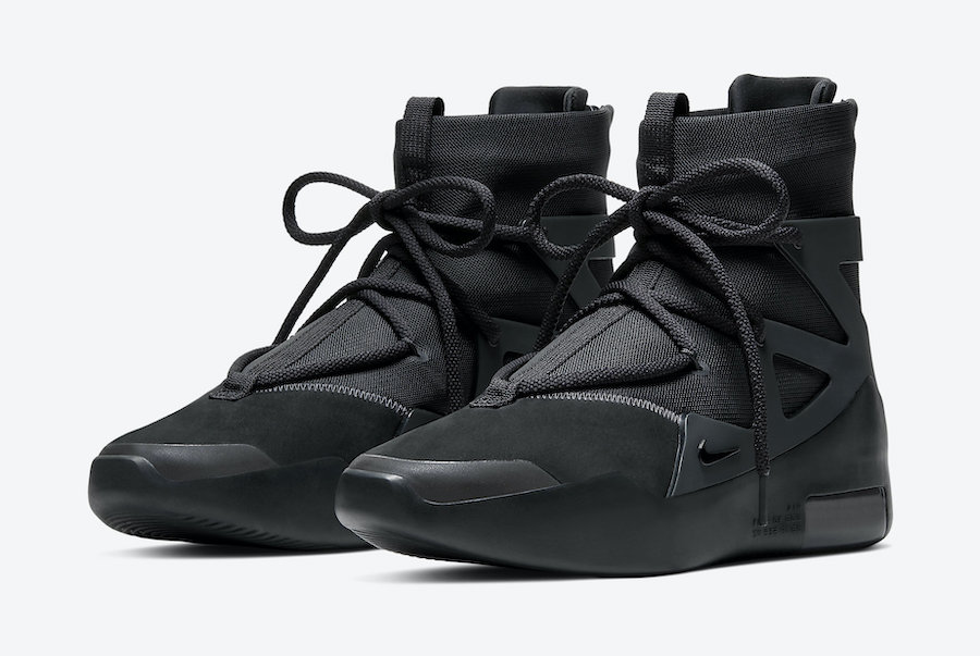 Nike Air Fear of God 1 Black Noir AR4237-005 Release Date