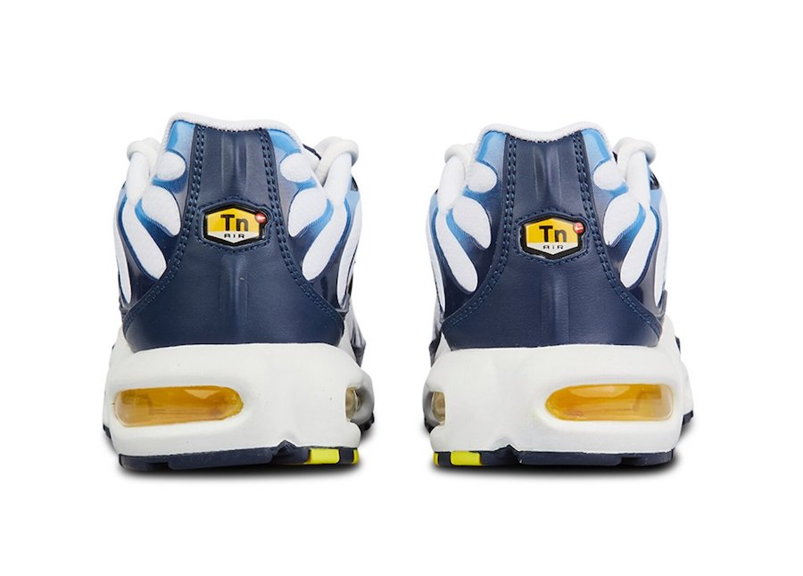Nike Air Max Plus White Blue Gold CT1094-100 Release Date