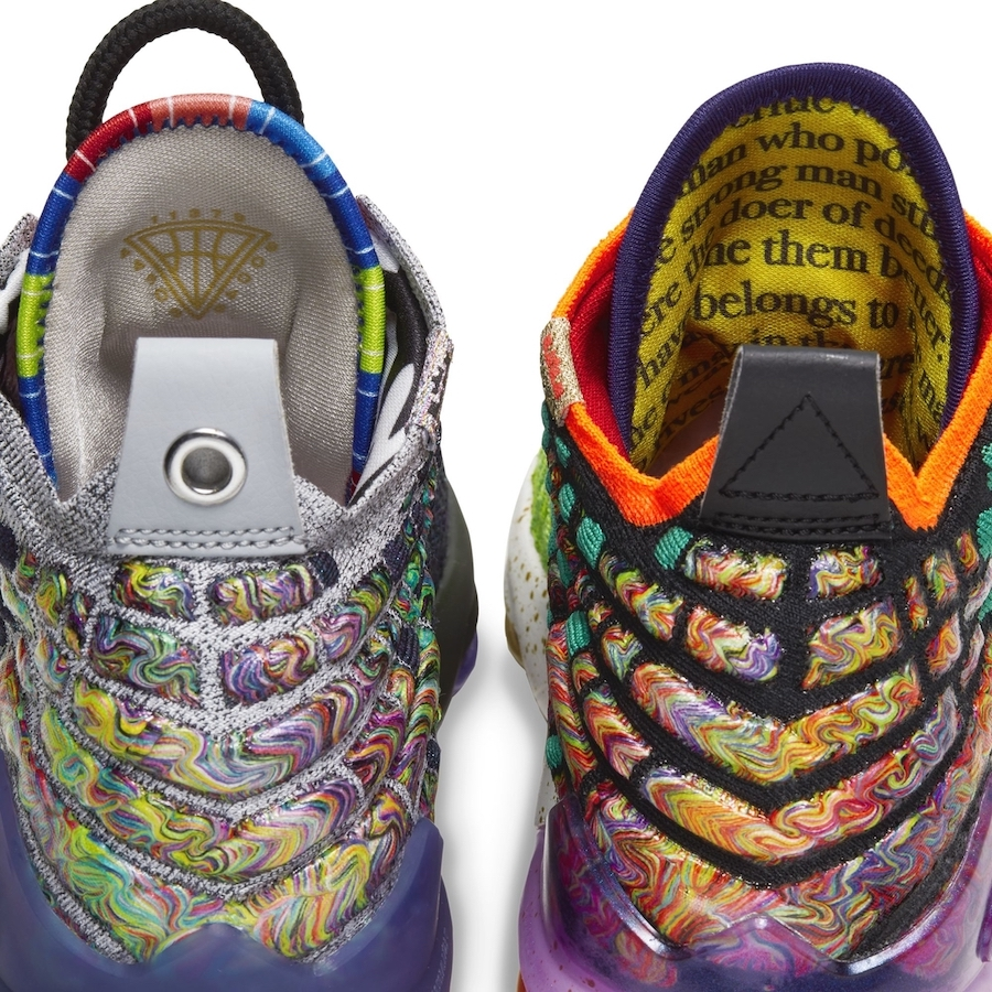 Nike LeBron 17 What The GS Grade School Release Date