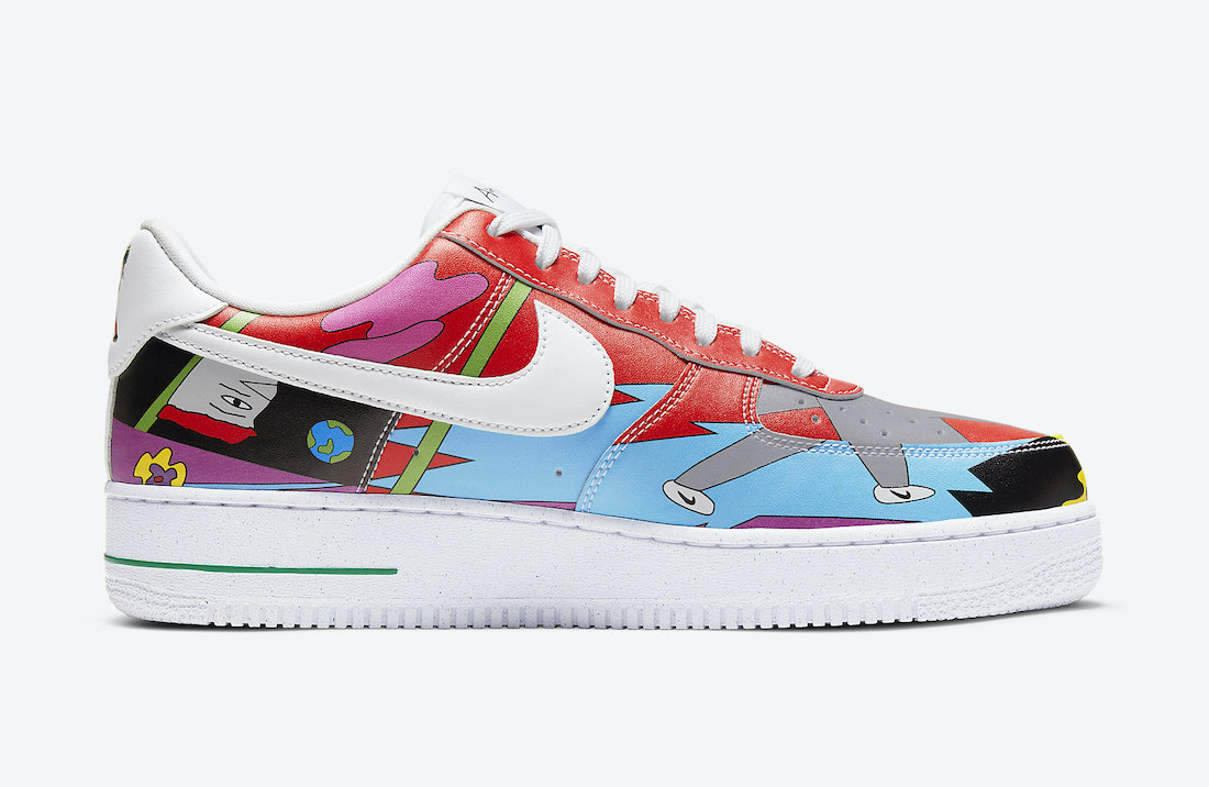 Ruohan Wang Nike Air Force 1 Low CZ3990-900 Release Date