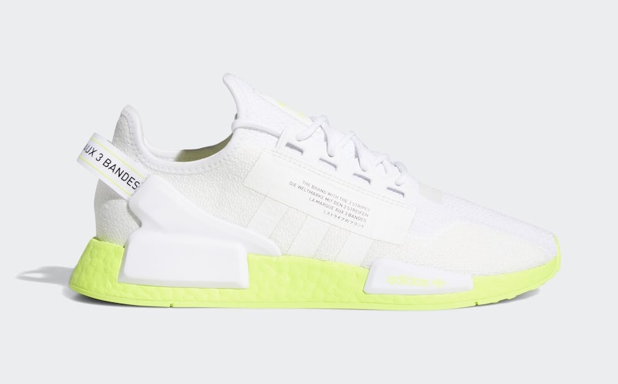 Adidas Nmd R1 V2 White Volt Boost Fx3903 Release Date Sbd