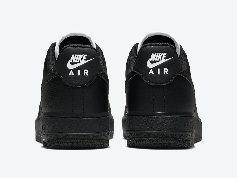 Nike Air Force 1 Low Black CJ1607-001 Release Date