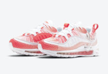 Nike Air Max 98 Bubble Track Red Barely Rose CI7379-600 Release Date