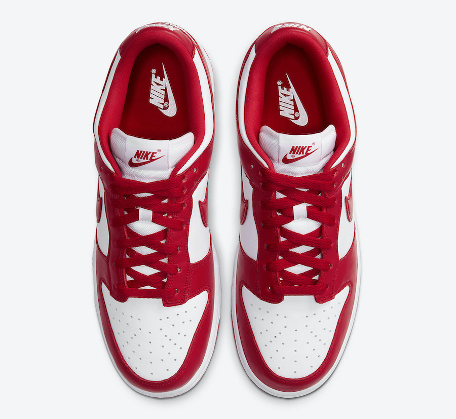 Nike Dunk Low University Red CU1727-100​​​​​​ Release Date Price