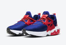 Nike React Presto Obsidian University Red White CW5586-400 Release Date