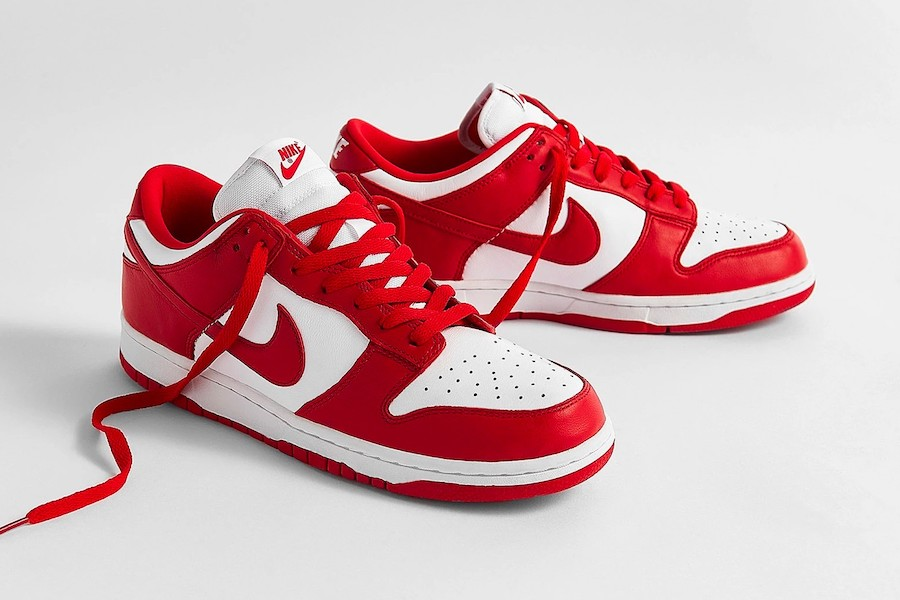 University Red Nike Dunk Low CU1727-100​​​​​​​ Release Date