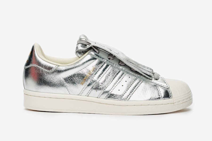 adidas Superstar Fringe Silver FW8159 Release Date