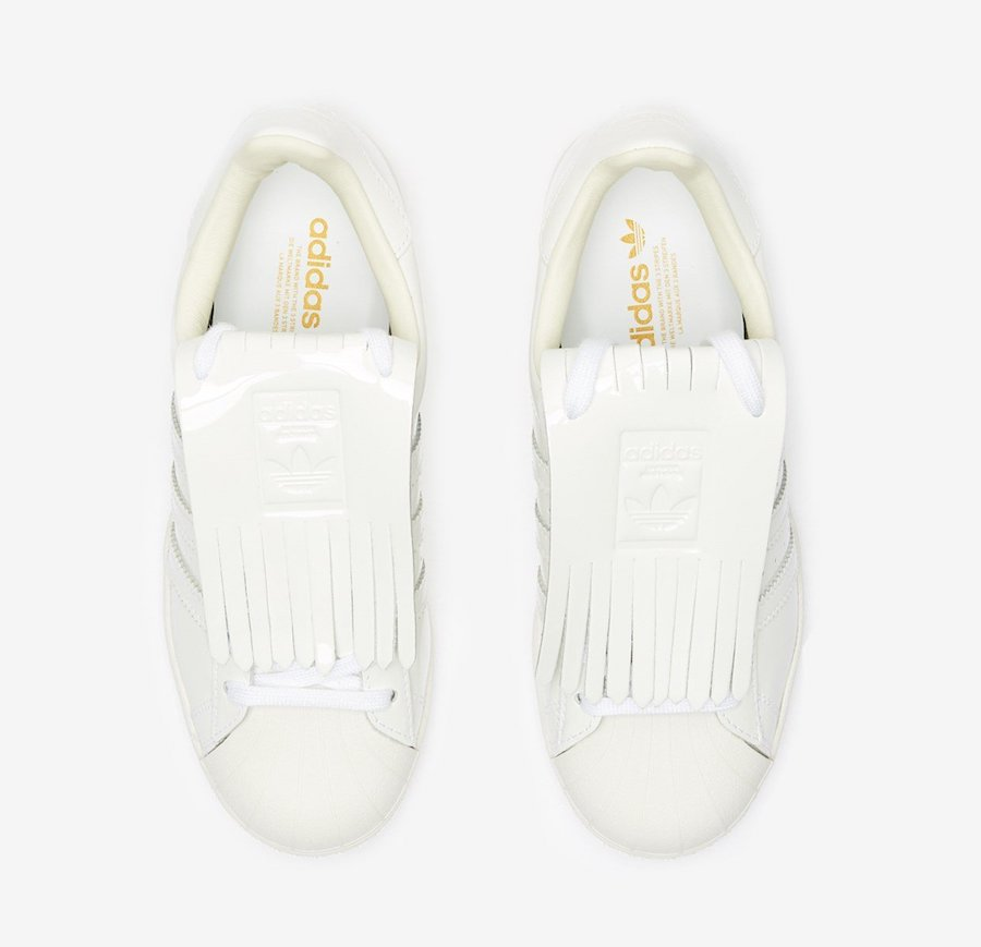 adidas Superstar Fringe White FW8154 Release Date