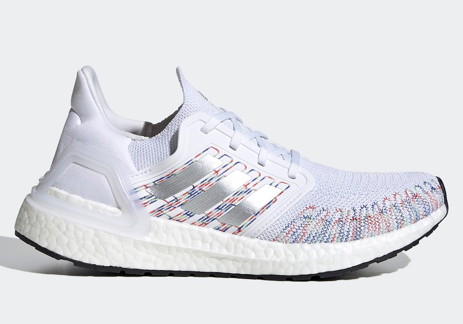 adidas Ultra Boost 2020 WMNS White Multi-Color EG0728 Release Date