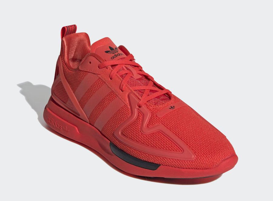 adidas ZX 2K Flux Red FV8478 Release Date