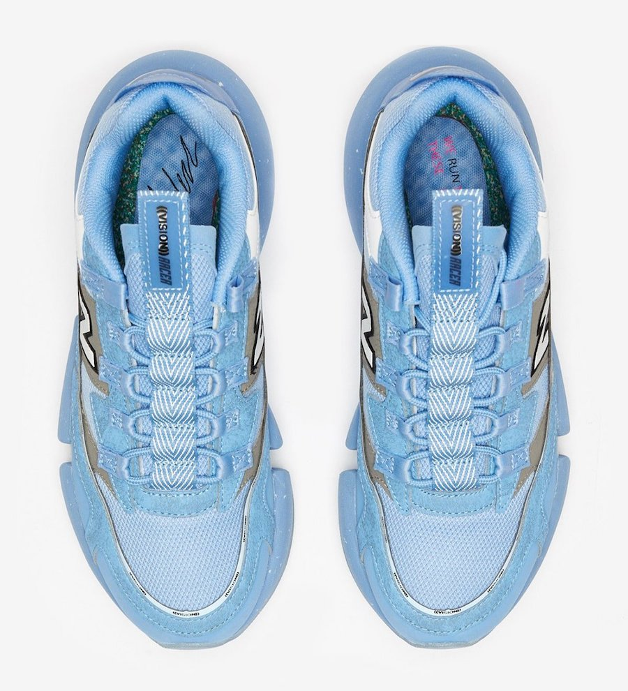 New Balance Vision Racer Blue Silver Release Date