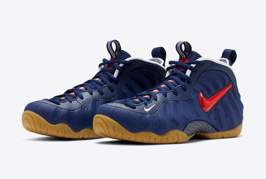 Nike Air Foamposite Pro USA CJ0325-400 Release Date