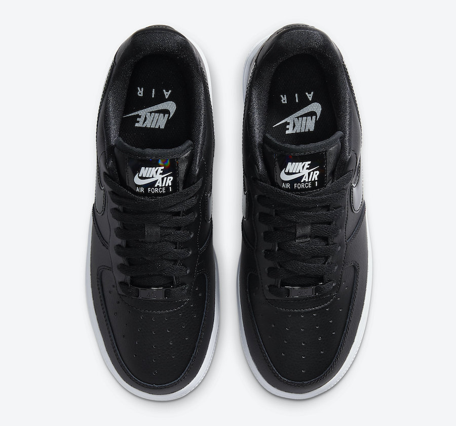 Nike Air Force 1 Low Black Iridescent CJ1646-001 Release Date