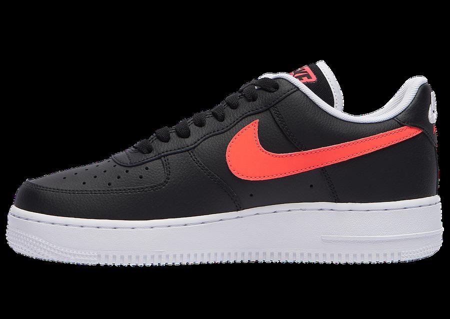 Nike Air Force 1 Low Worldwide Black Crimson CK6924-001 Release Date