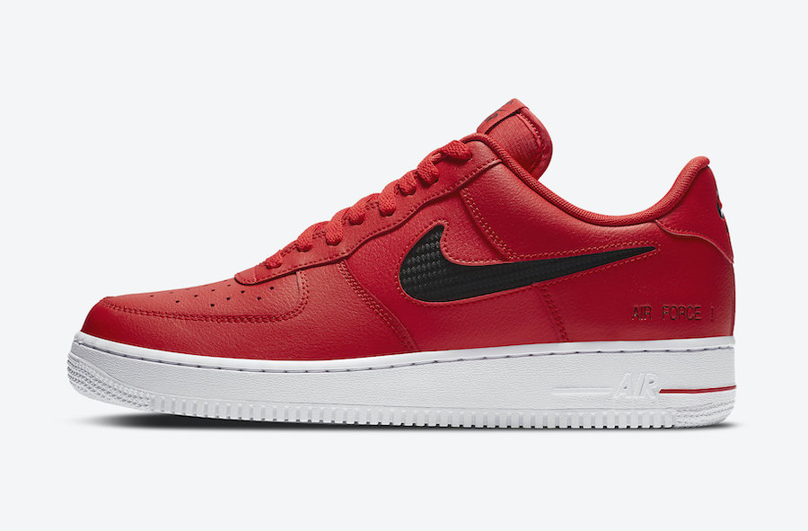 Nike Air Force 1 Red CZ7377-600 Release Date