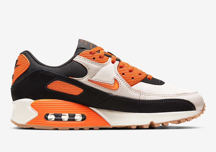 Nike Air Max 90 Home Away Safety Orange CJ0611-100 Release Date