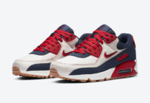 Nike Air Max 90 Home Away Sail University Red CJ0611-101 Release Date