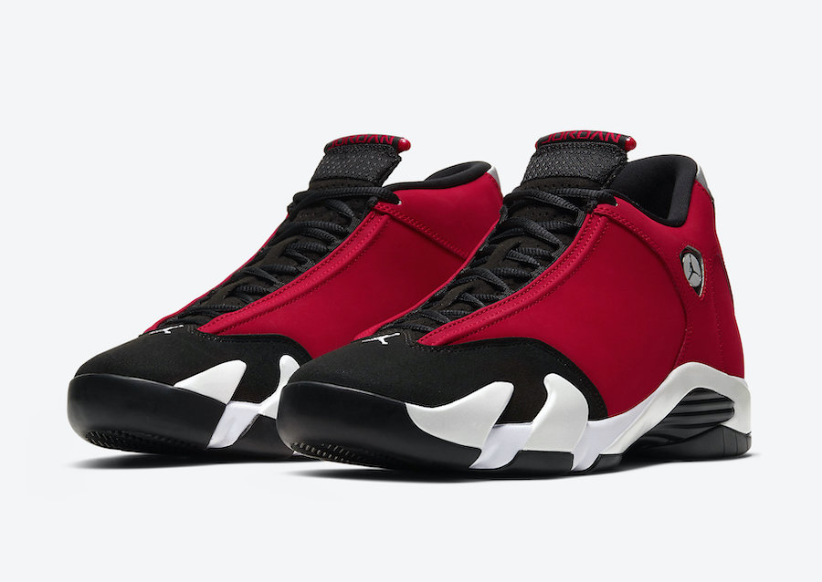 Nike Air Jordan Retro 14 Toro Bred Black Gym Red White Infant Toddler TD Size