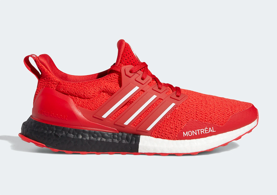 adidas Ultra Boost DNA Montreal Scarlet FY3426 Release Date