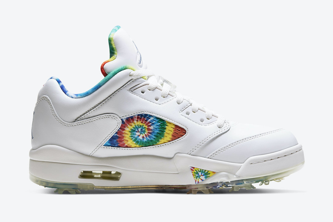 Air Jordan 5 Low Golf Tie-Dye CW4205-100 Release Date