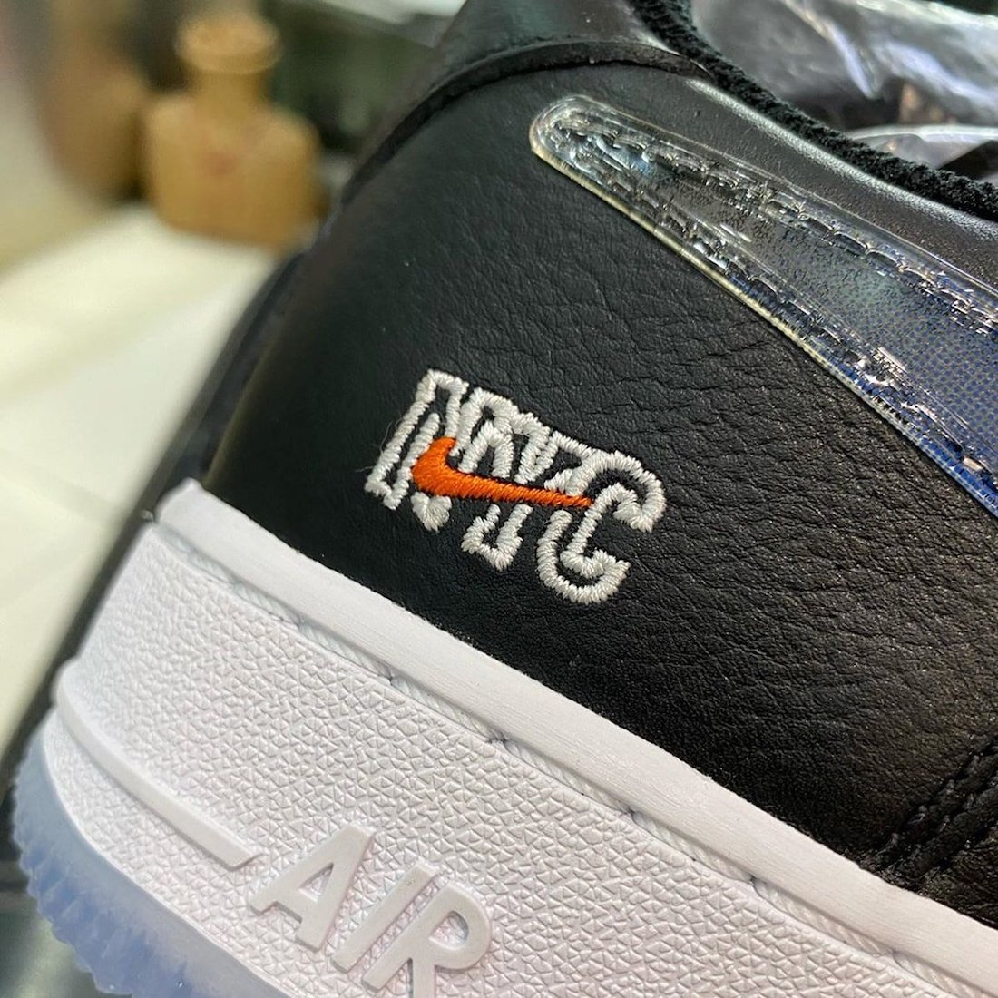 Kith Nike Air Force 1 Low NYC Black CZ7928-001 Release Date