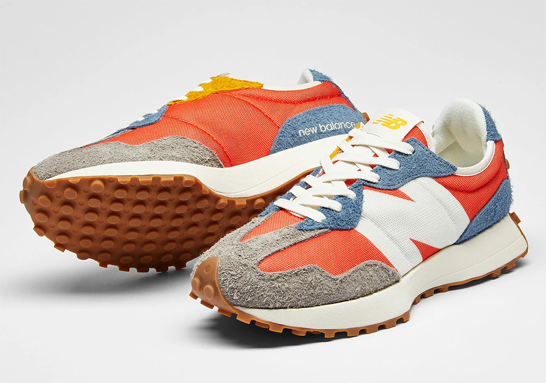New Balance 327 Orange Blue Grey Release Date