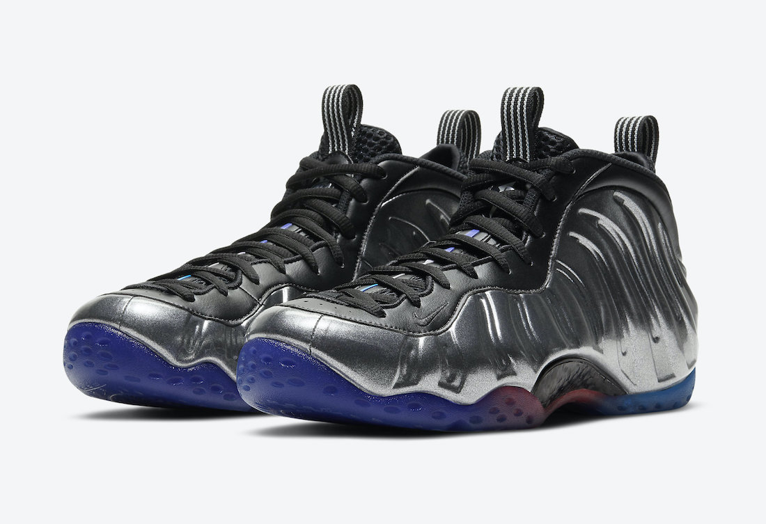 Nike Air Foamposite OneBlack WhiteGame Royal Eastbay ...