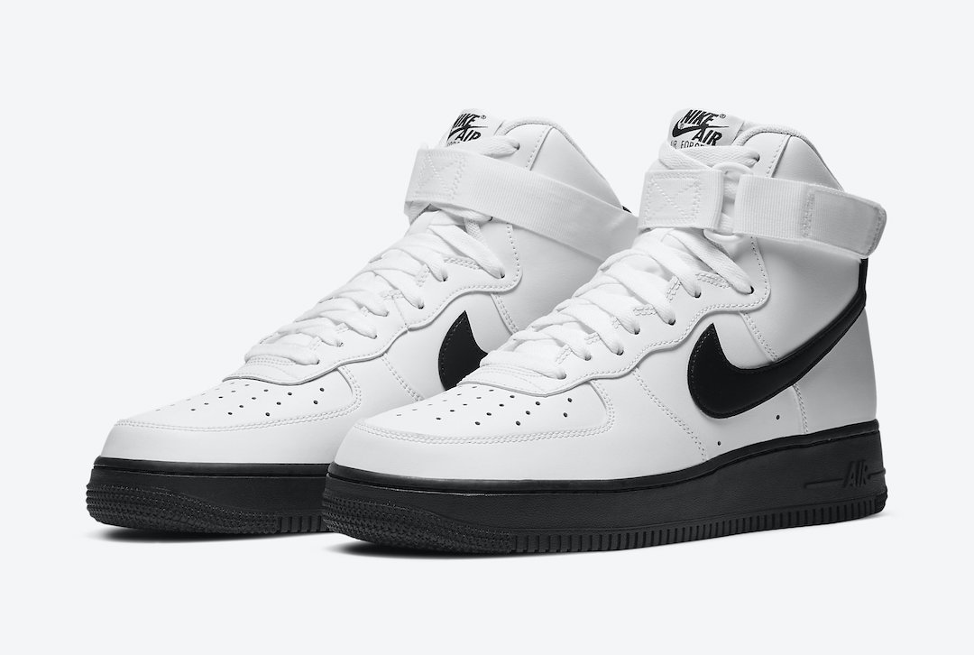 Nike Air Force 1 High White Black CK7794-101 Release Date Price