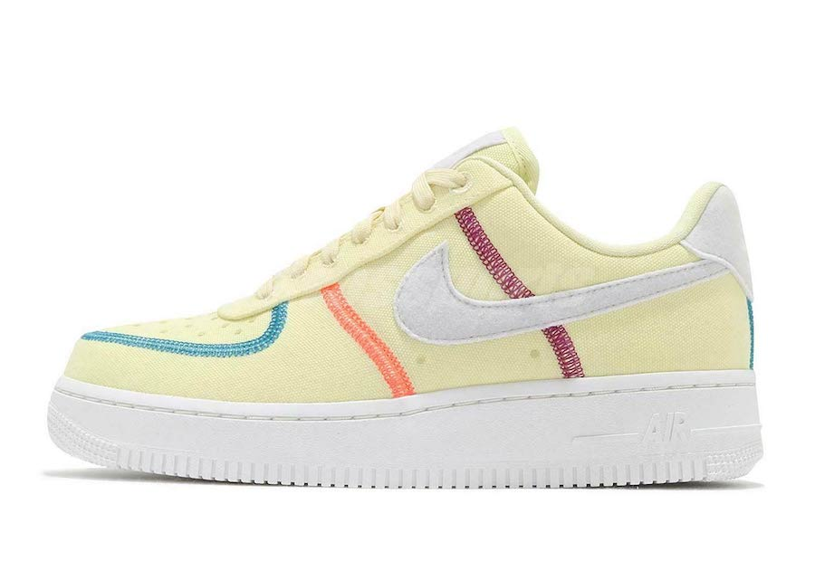 Nike Air Force 1 Low Life Lime CK6572-700 Release Date