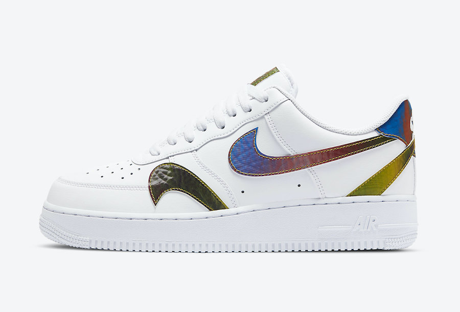 Nike Air Force 1 White Misplaced Swoosh CK7214 101 Release Date