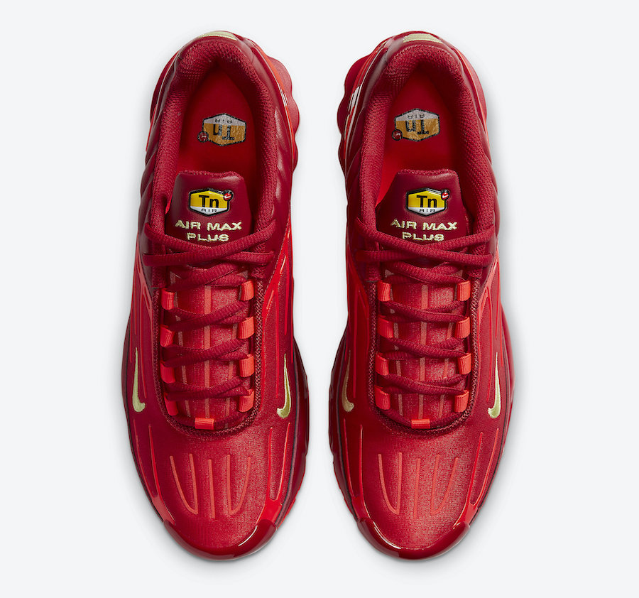 Nike Air Max Plus 3 Red CK6715-600 Release Date